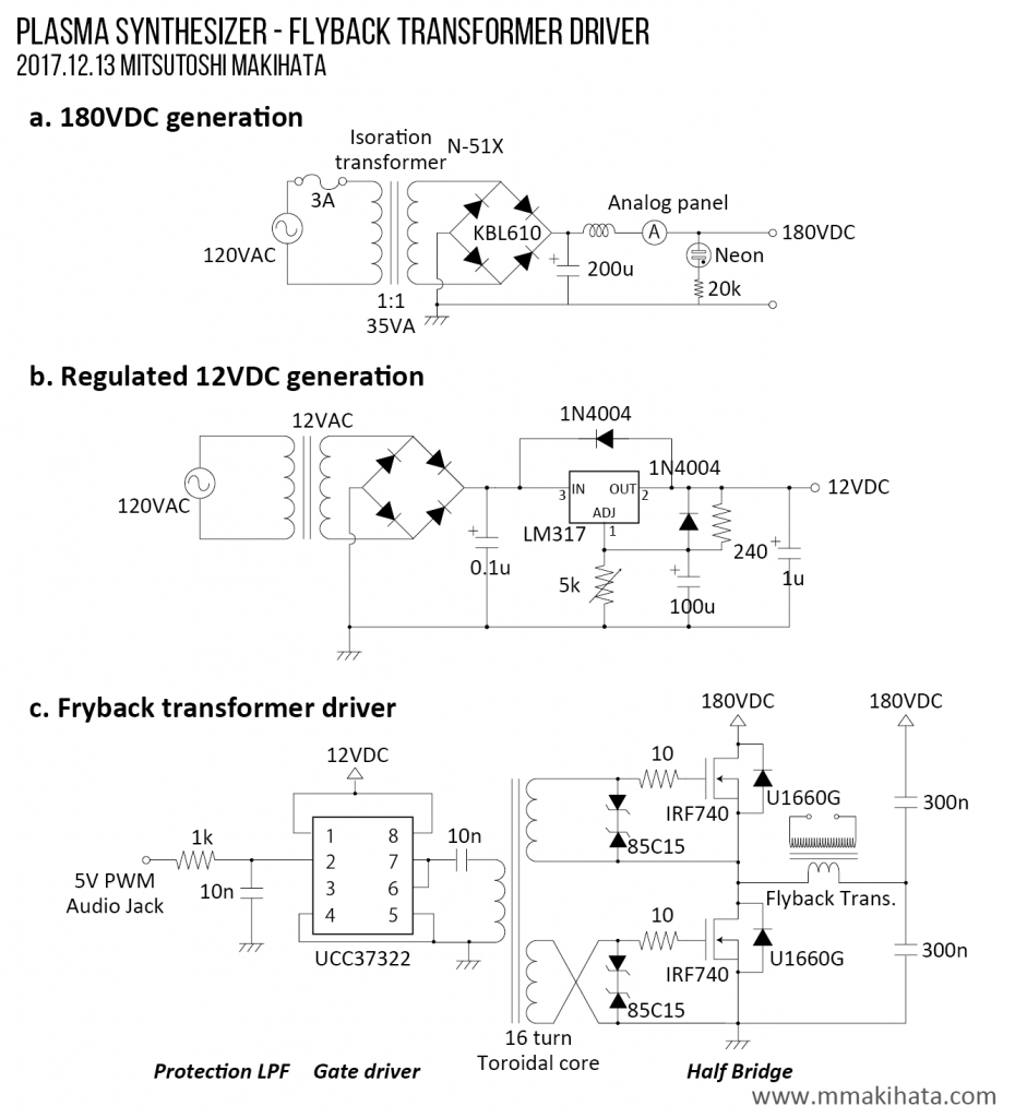 An Peak Current In Thyristor Xenon Flash Tube Trigger Circuit As You May Notice On The Schematic Above First Op Amp Stage Has A Large Gain Ac But Unity Dc