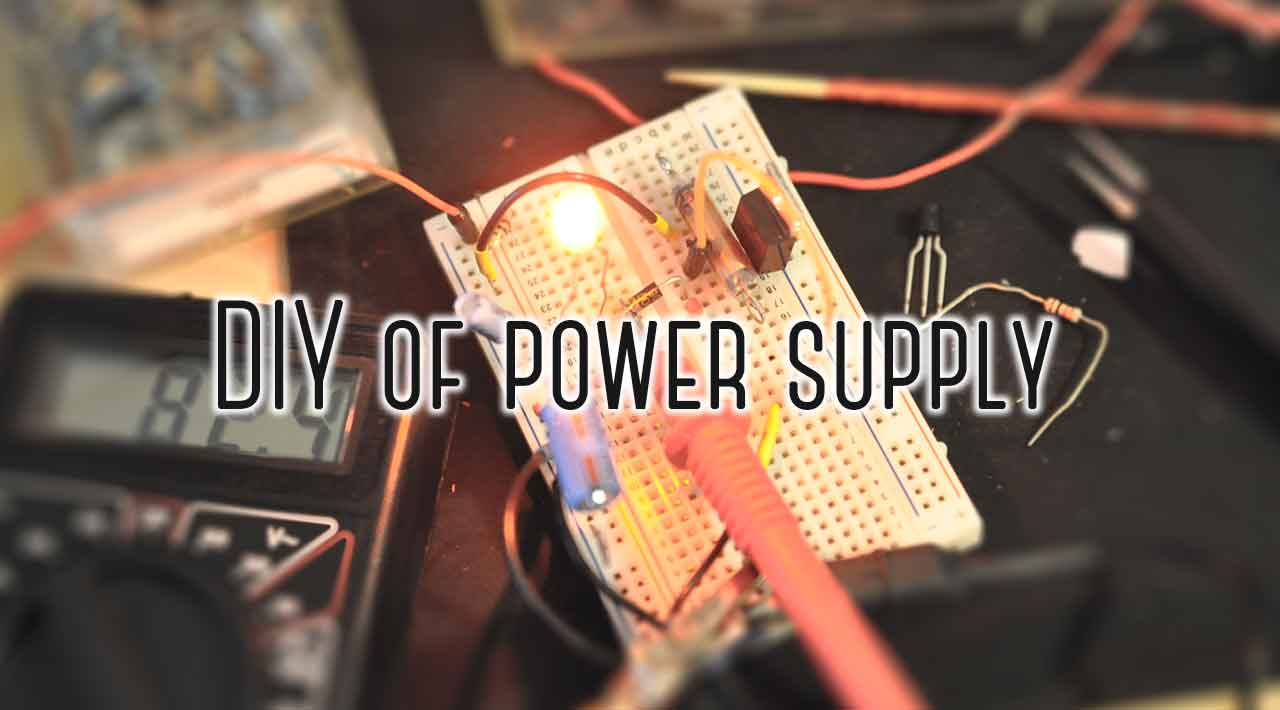 Diy Of Power Supply Zero Using Lm 317 Lm337 Electronic Circuits And Diagram
